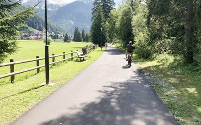 Pista ciclabile Val di Fassa e Val di Fiemme: pedalando da Canazei a Molina