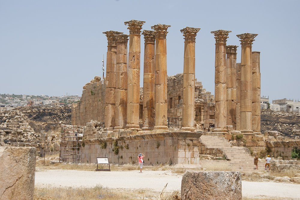 tempio di artemide jerash giordania