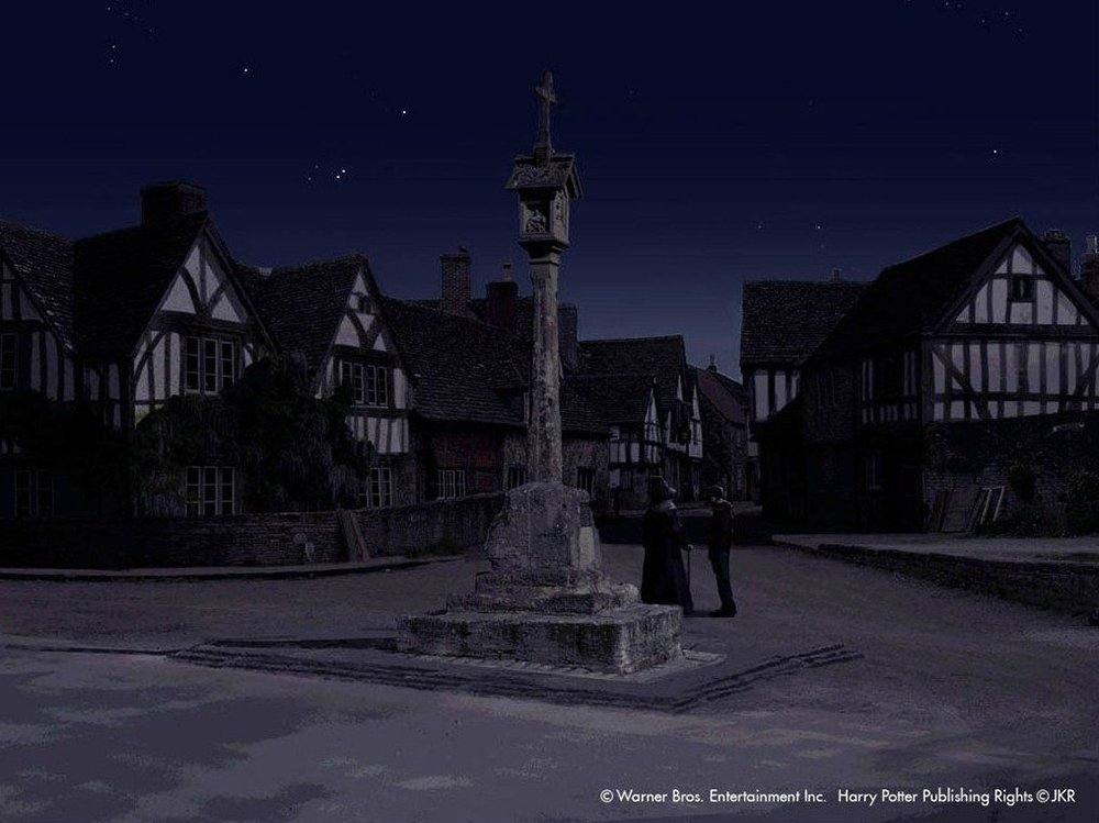 Budleigh Babberton lacock harry potter location
