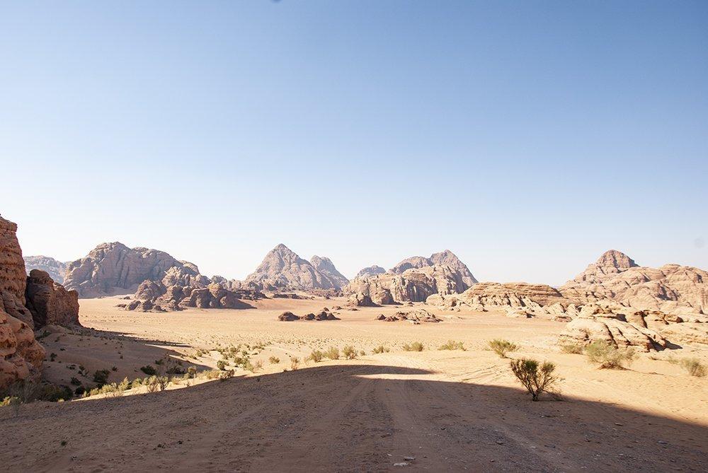 wadi rum giordania on the road ricordi cosa aspettarsi