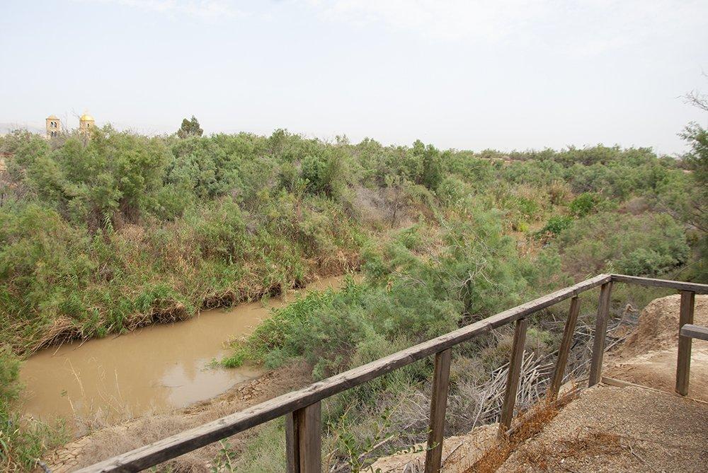 sito del battesimo betania oltre il giordano fiume