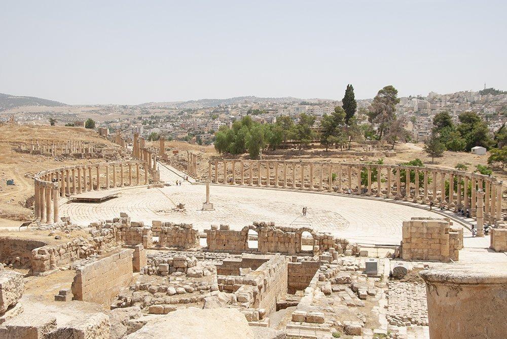 itinerario in giordania jerash