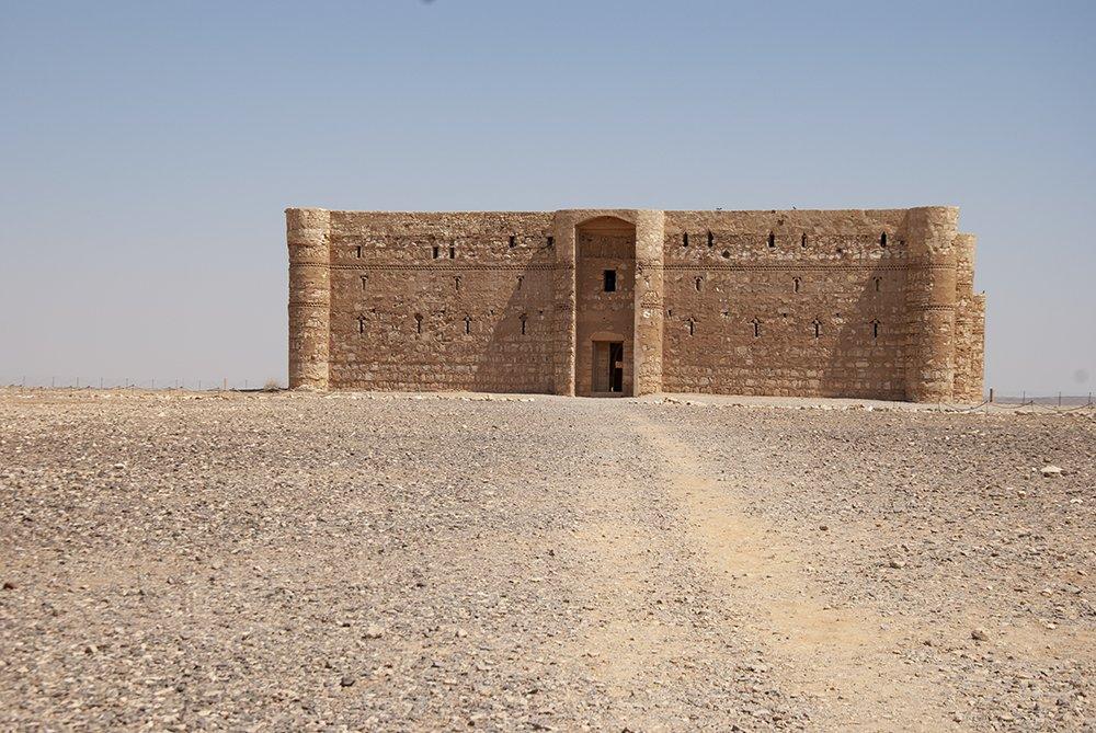 castelli del deserto giordania Qsar Kharana