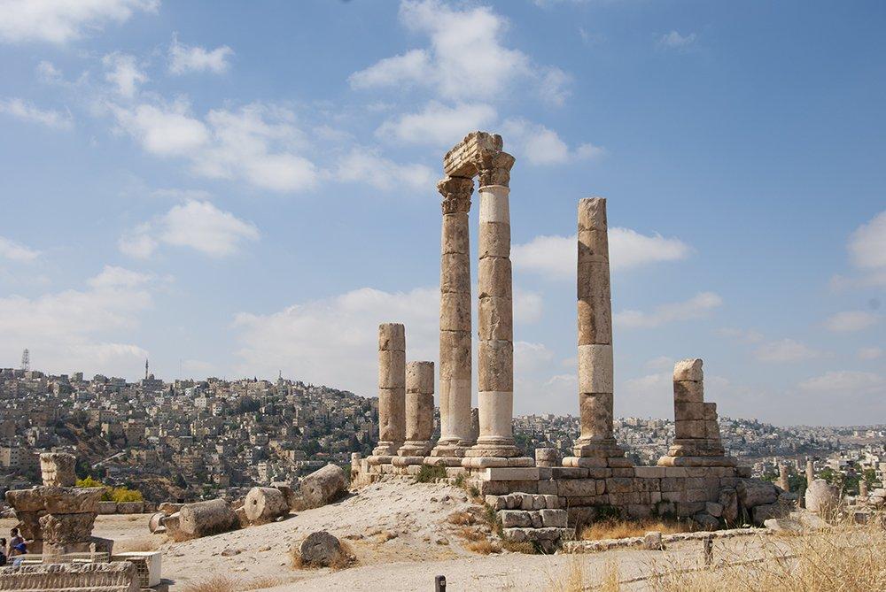 itinerario in giordani amman