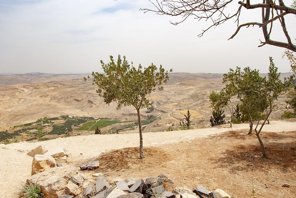 monte nebo itinerario in Giordania