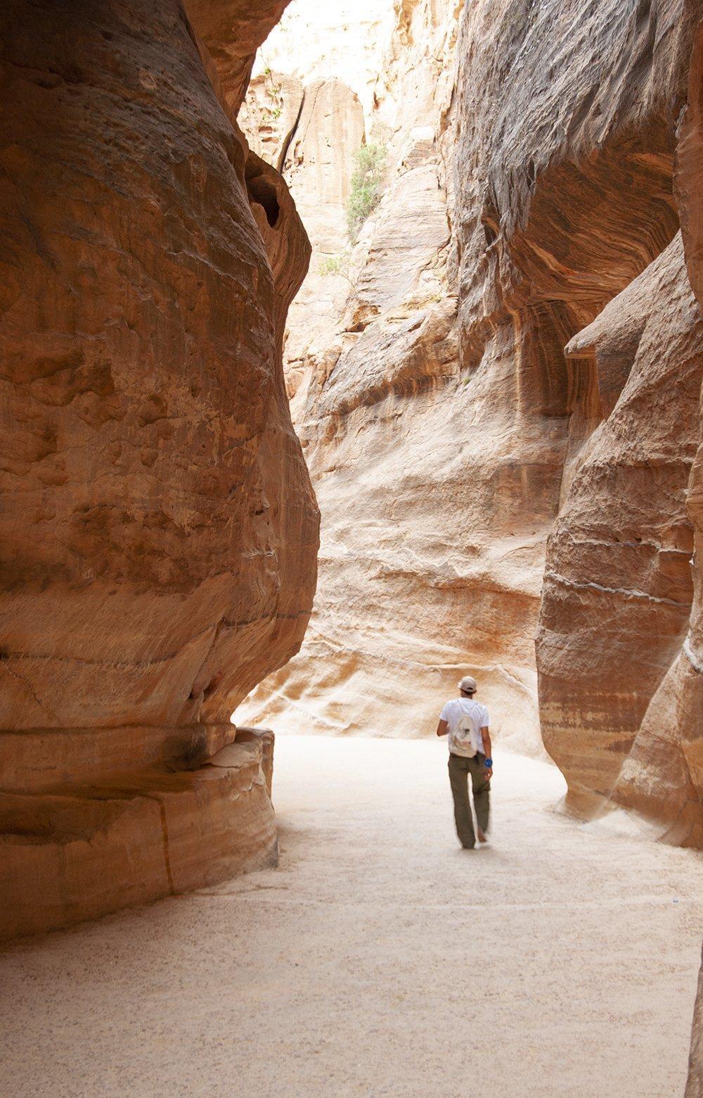 petra itinerario in giordania siq