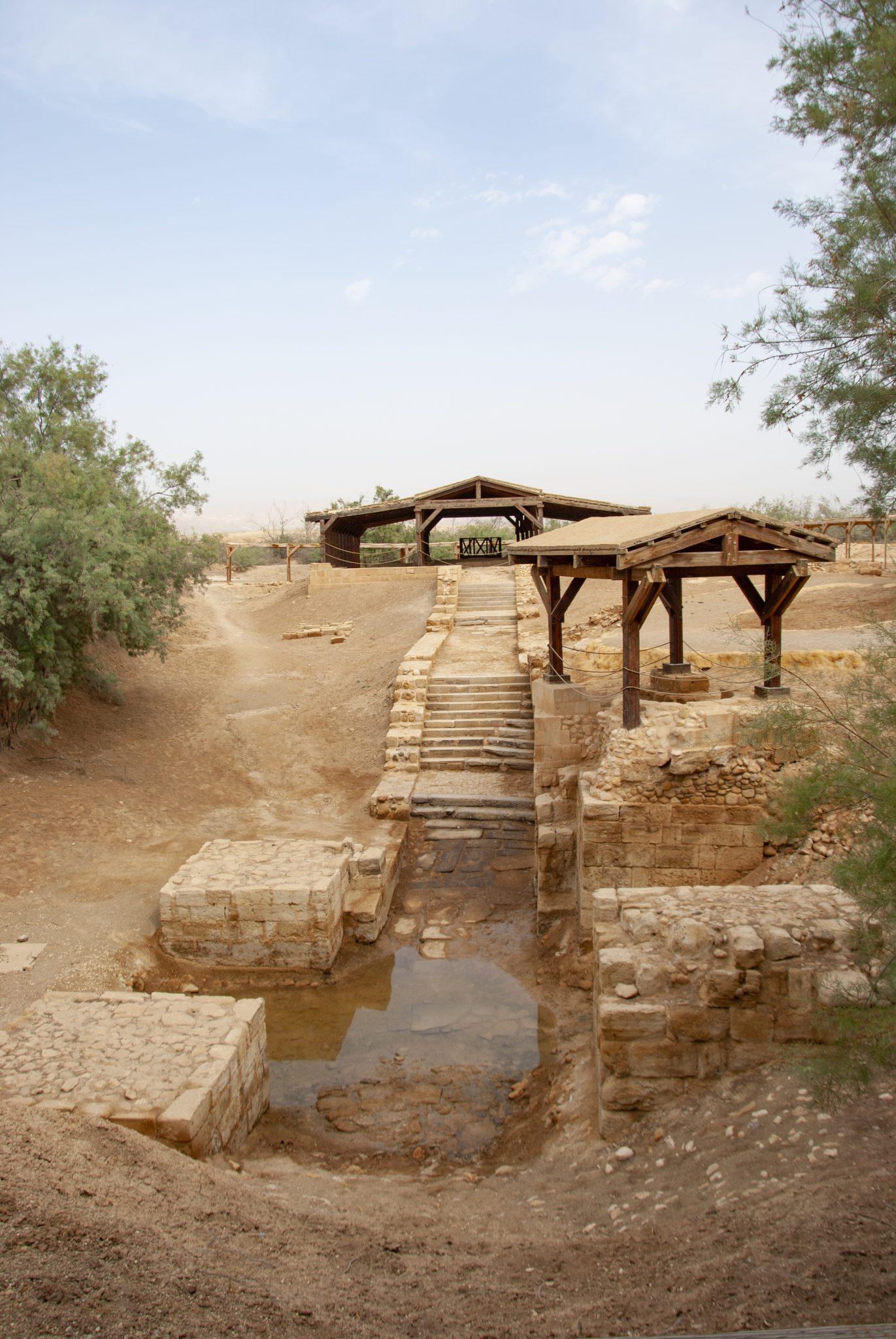 sito del battesimo giordania