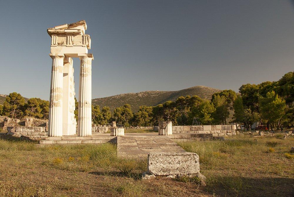 santuario asclepio epidauro grecia argolide
