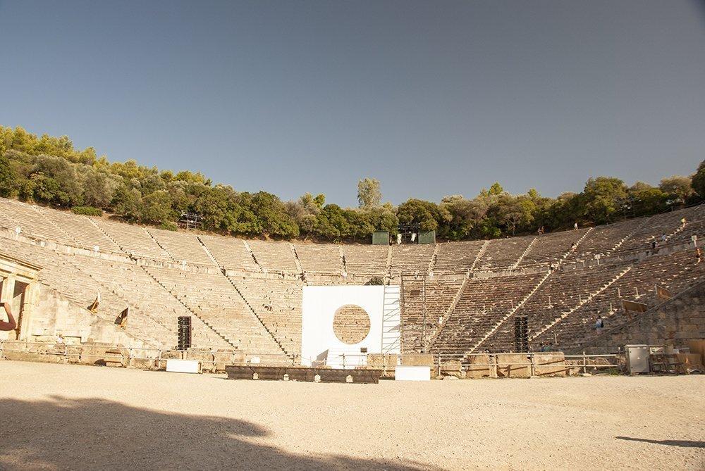 teatro epidauro grecia argolide