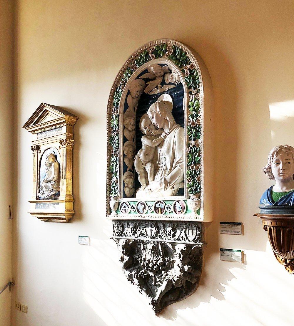 della robbia museo bargello firenze