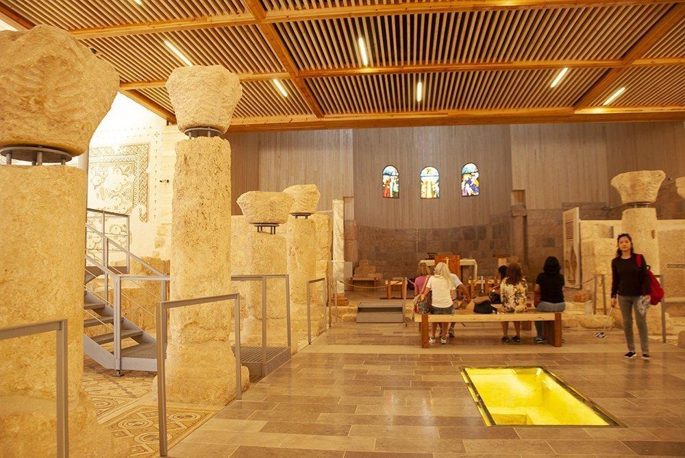 monte nebo giordania terra promessa chiesa memoriale mosè
