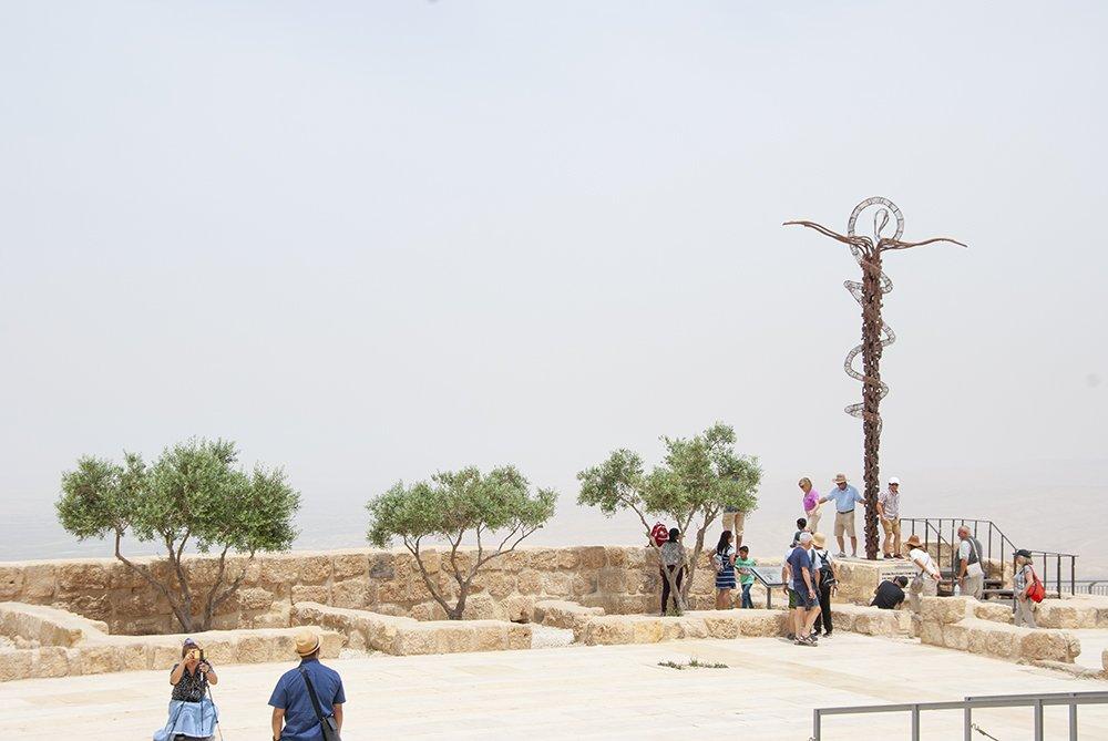 monte nebo giordania terra promessa mosè