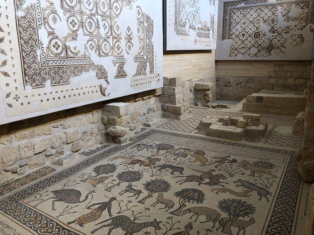 monte nebo giordania terra promessa mosè mosaici
