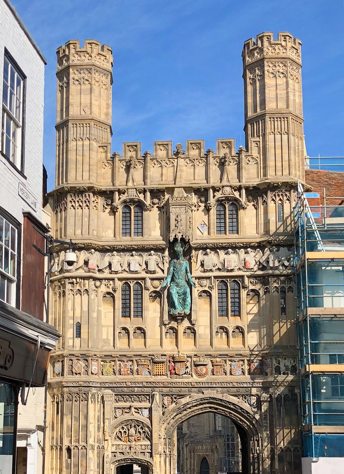 canterbury inghilterra kent cattedrale