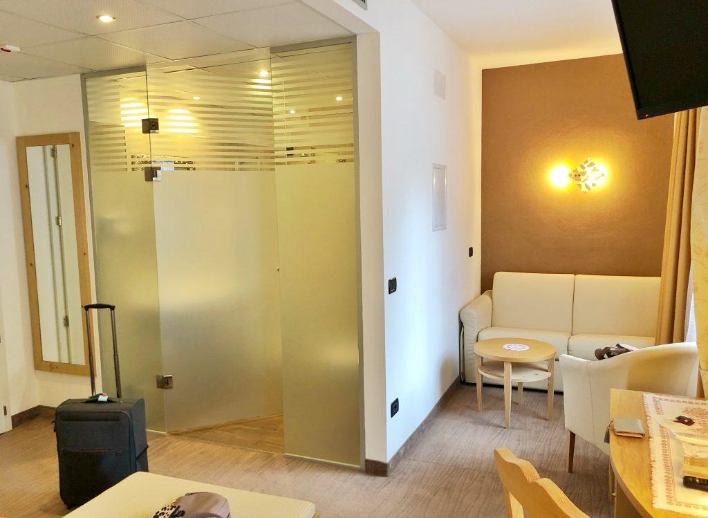 camera hotel ladina ciampitello di fassa