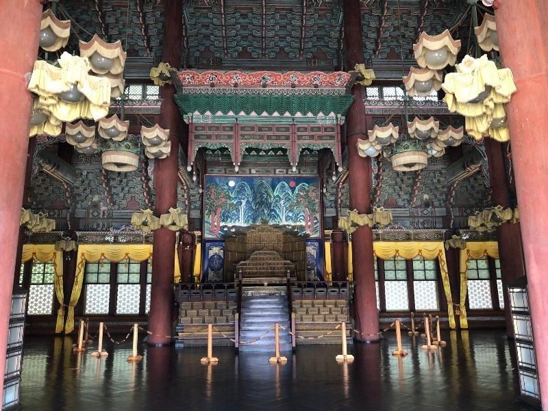 Changdeokgung Palace Seoul Seul Corea del sud