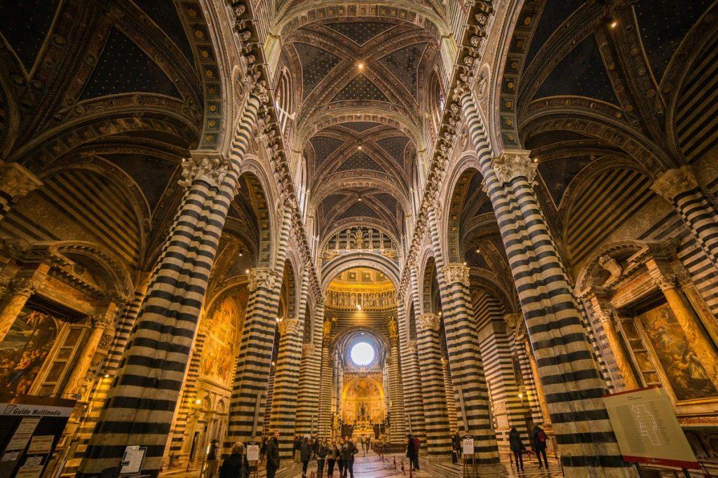 duomo siena cattedrale interno