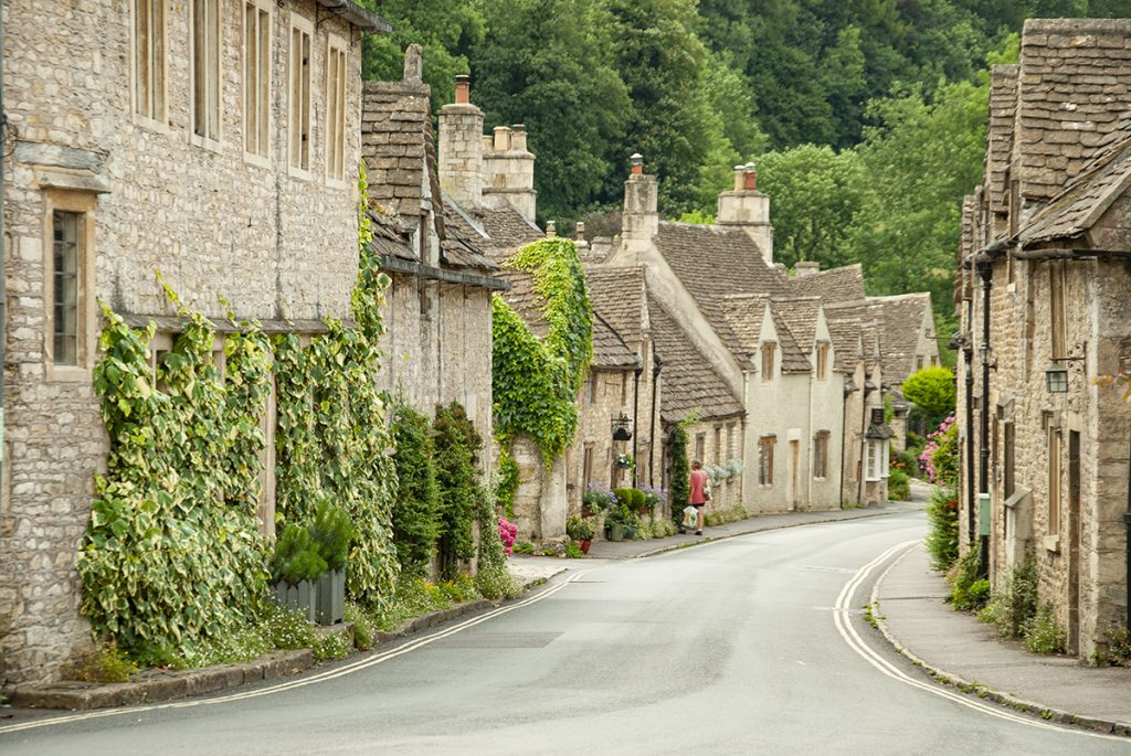 castle combe inghilterra cotswolds