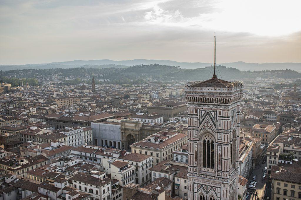 cupola del brunelleschi panorama campanile di giotto