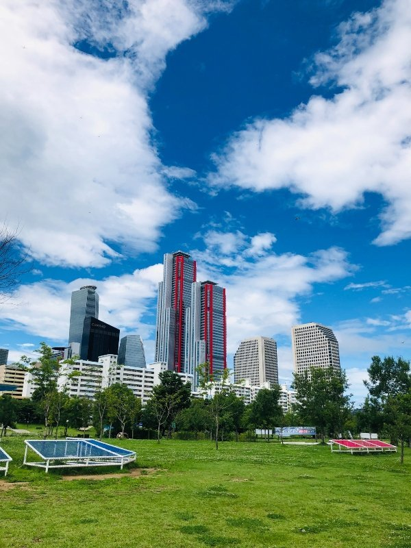 parchi pubblici seoul
