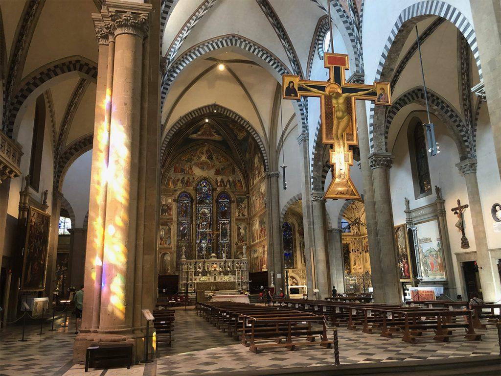crocifisso di giotto santa maria novella firenze