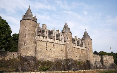 Visita al Castello di Josselin, Bretagna