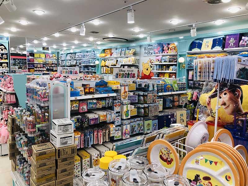daiso corea seoul negozio
