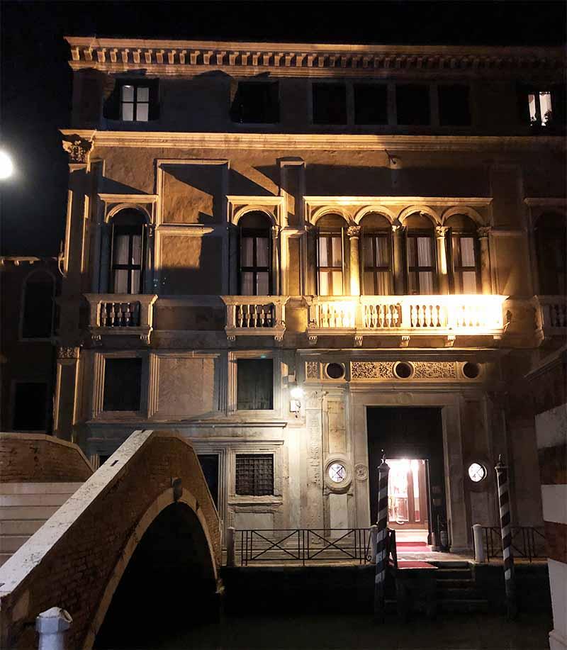dove dormire venezia hotel ca' vendramin