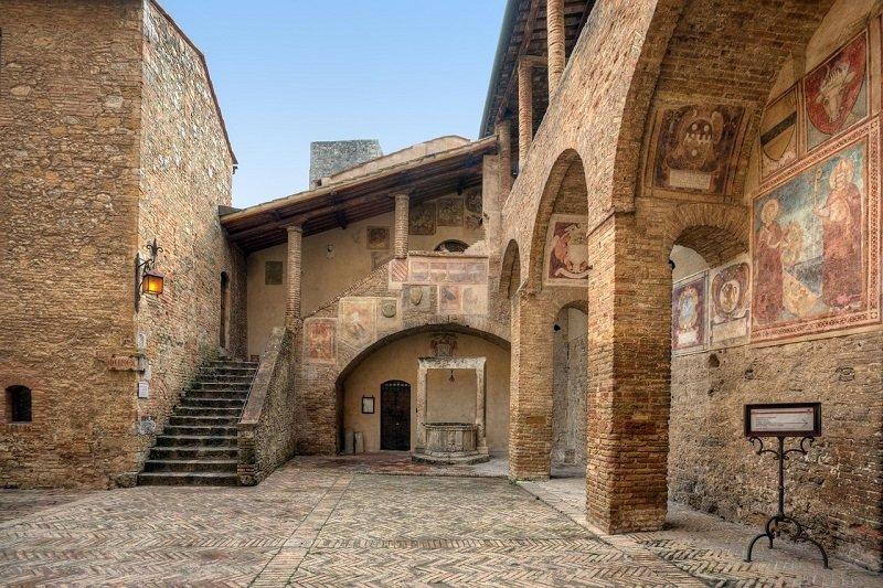 itinerario in toscana san gimignano