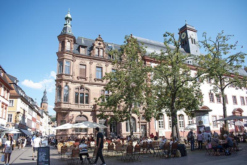 heidelberg altstadt markt