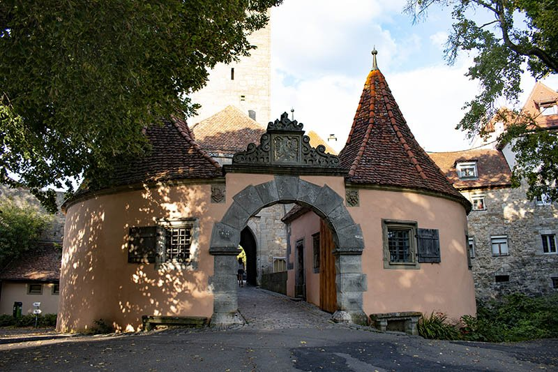 Rothenburg ob der Tauber porta