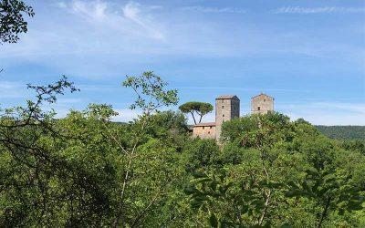 Trekking a Siena: dal Ponte della Pia al Castello di Montarrenti