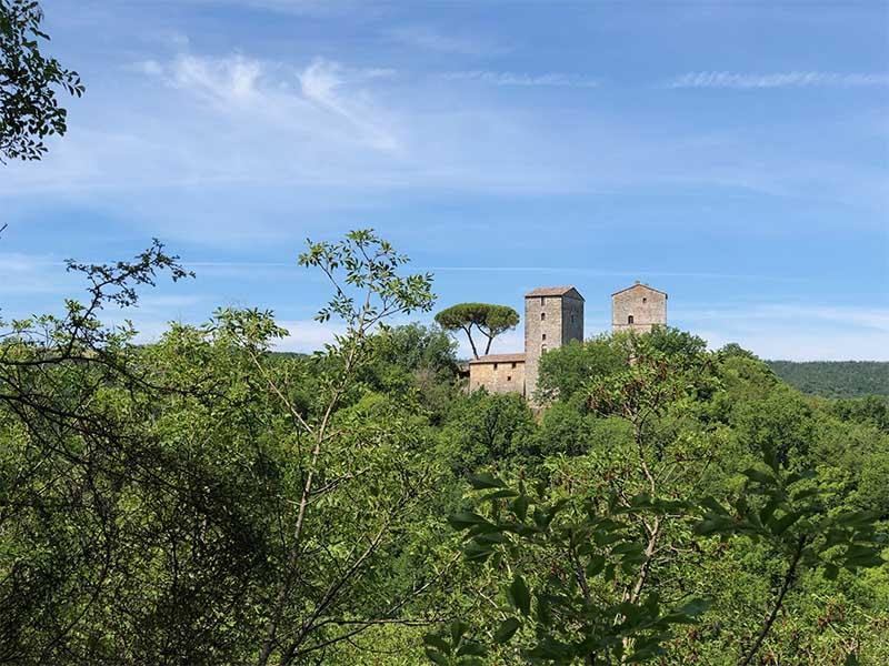 trekking siena castello di montarrenti